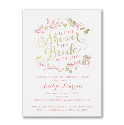 Bridal Shower Invitations Online